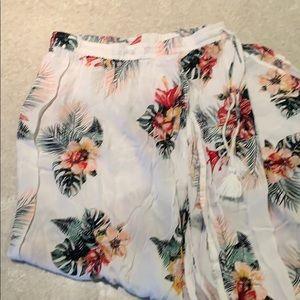 4 for $30. Never worn.  Roxy skirt